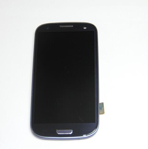 For Samsung Galaxy SIII S3 I535/ SCH-I535,T999/ SGH-T999 LCD Display Touch Screen Digitizer With Frame Assembly shipping free