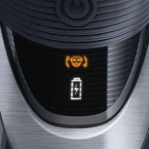 Image 3 - Philips AquaTouch umido e secco rasoio elettrico rotativo con TripleTrack teste, smartPivot teste trimmer AT921/28 per gli uomini Nero