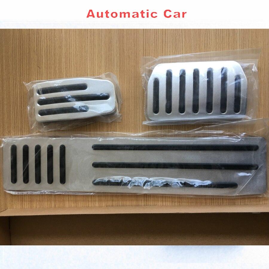 AUTOOTGO housse de protection de pédale de frein à gaz de voiture d'origine avec pédales de repos pour TESLA MODEL S MODEL X 2012-2018 aucune installation de dommages