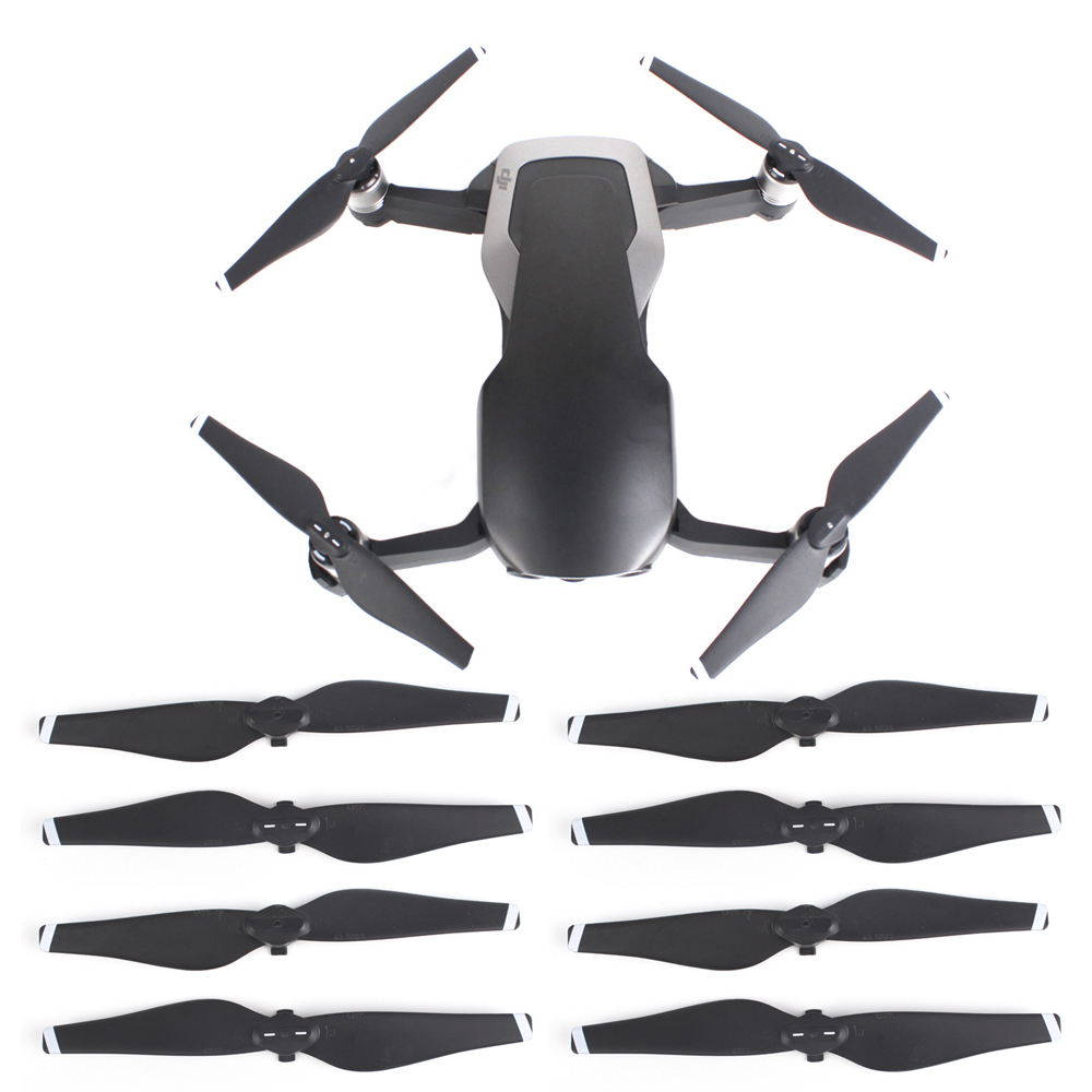 8pcs Propeller For DJI Mavic Air Drone Quick Release Propeller CCW CW Props Replacement Blade Spare Parts Mavic Air Wings