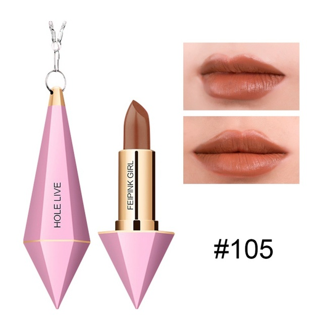 a940953475 US $3.44 15% OFF|Girl's Long Lasting Sexy Moisturizer Matte Pink Diamond  Shape Lipstick-in Lipstick from Beauty & Health on Aliexpress.com | Alibaba  ...