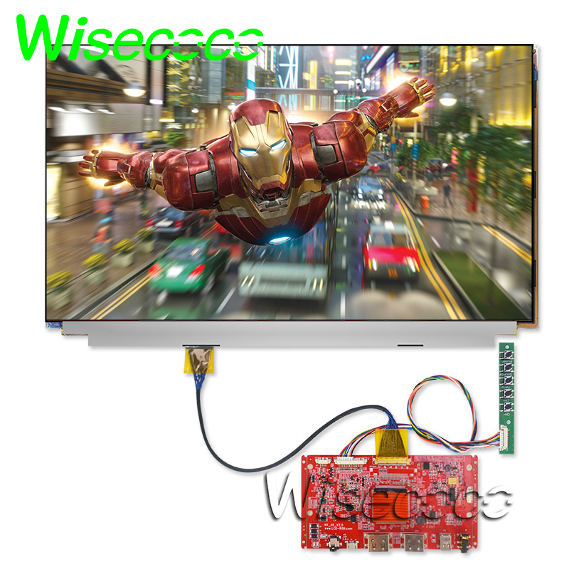 3840*2160 4K IPS 15.6 Inch Lcd Display Glass Without Backlight 2HDMI DP 30pin Controller Board For 3D Printer DIY Projector FOG