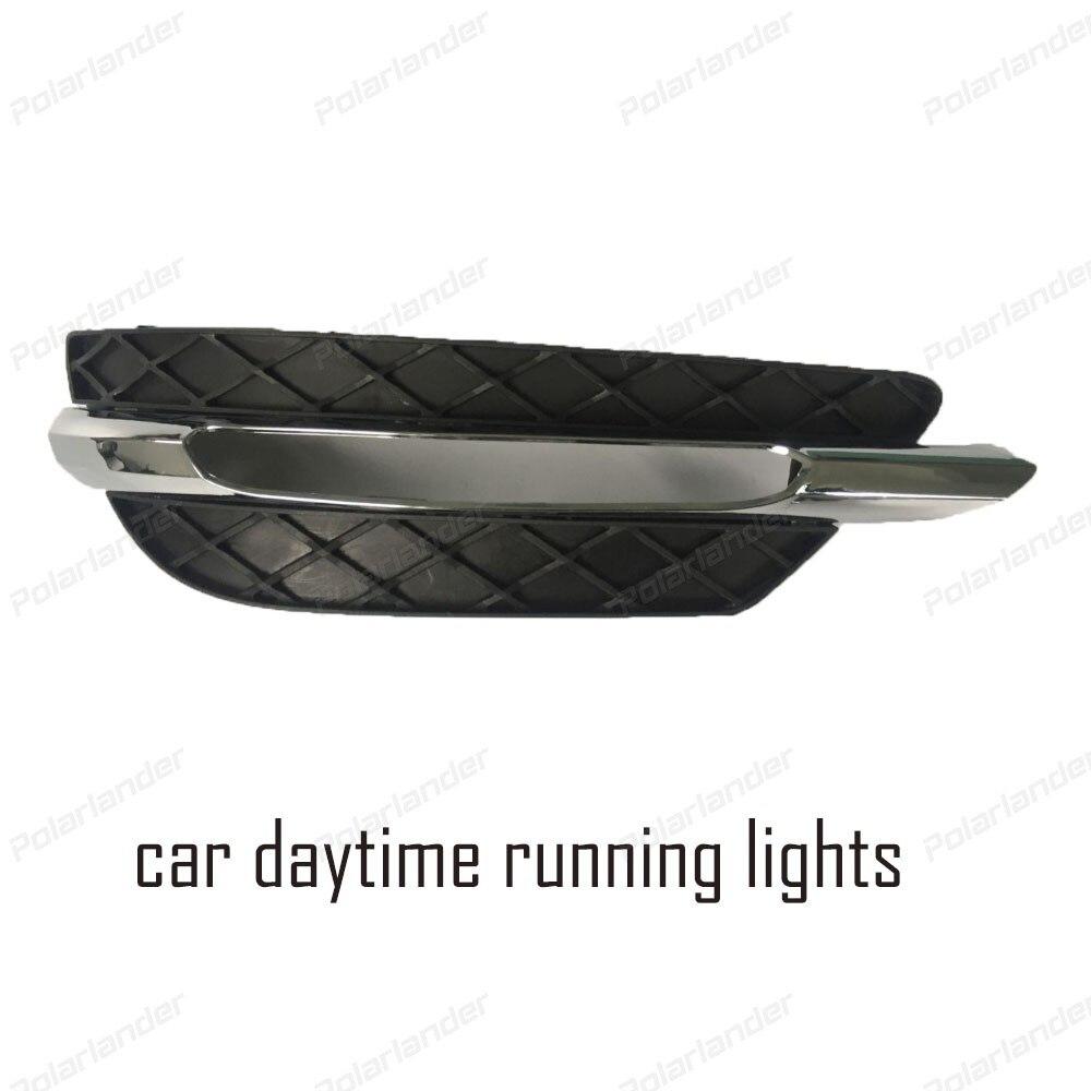2x LED DRL Daytime Running Head Lamp Fog Light 12V Car Styling For B Enz C200