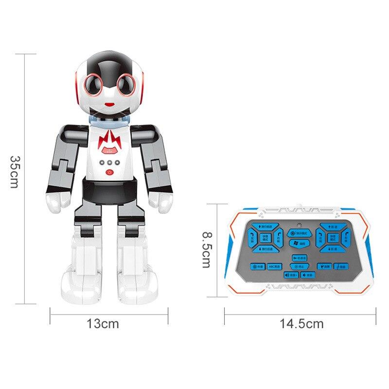Neue 2,4 Ghz rc fernbedienung intelligente smart roboter humanoids roboter palm induktion Spielzeug pädagogisches spielzeug walking tanzen roboter - 5