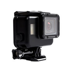 Protective Accessories Waterproof Housing Cage Case Touch Screen Backdoor For GoPro Hero 5 Black Action Camera