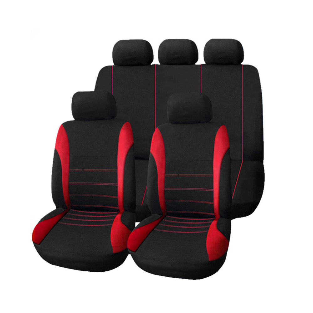 Red Blue Gray Car Seat Covers Universal Car Covers