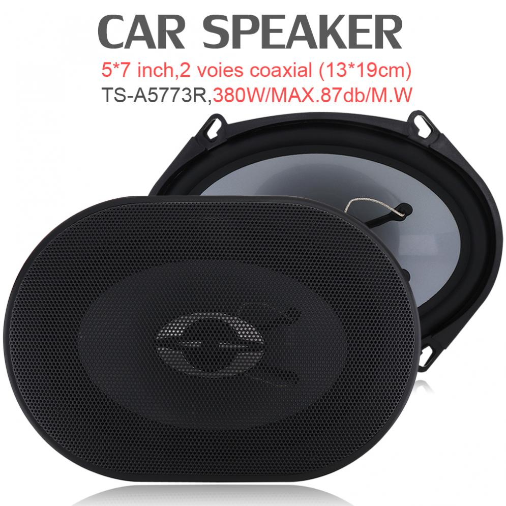 2x 4x 6Inch 280W Car HiFi Coaxial Speaker Audio Music Stereo Horn 35Hz-30KHz