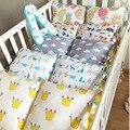 Ins Nueva Moda Super Lindo Algodón Decoración Del Dormitorio Del Bebé Cuna Parachoques Dool Almohada