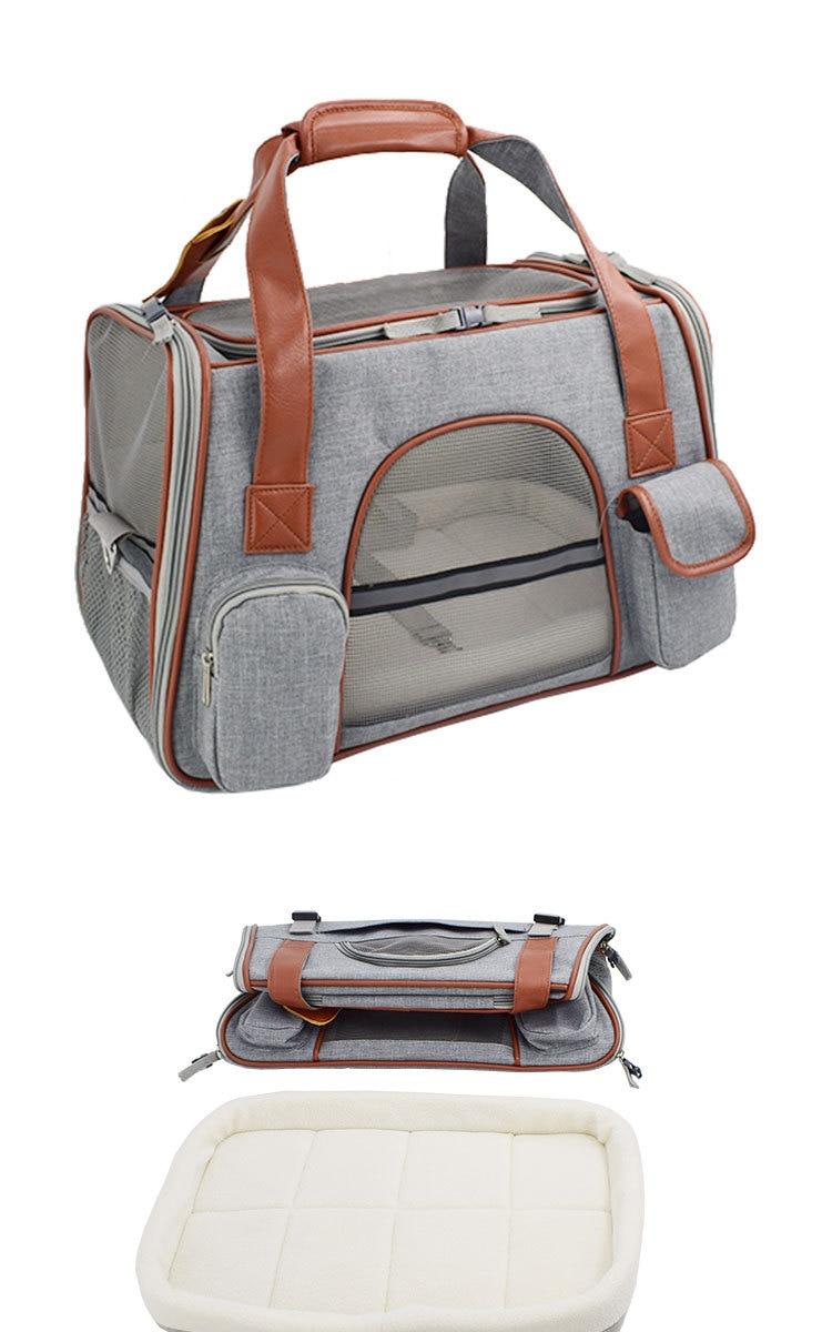 Breathable K9 Dog Backpack Carrier 17