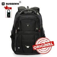 Swiss Men Backpack Gear Quality 15 6 Laptop Backpack Sac A Dos Large Capacity Waterproof Bagpack