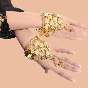 Одежда для танцев Болливуд ювелирные изделия для танцев браслеты 1 парные драгоценности набор индийские аксессуары и украшения