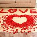 100Pcs/Lot Rose Flower Petals Leaves Wedding Decorations Party Festival Confetti Decor Event & Party Supplies