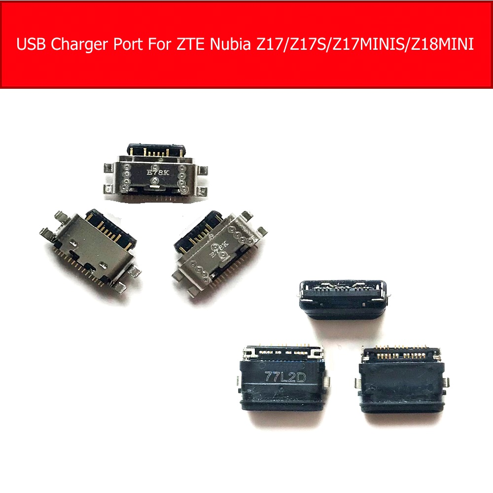 USB Charger Port For ZTE Nubia Z17 NX563J NX591J Charging Jack Dock For Nubia Z17minis NA589J Z17s NX595J NX609J Z18mini NX611J