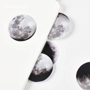 Image 4 - 24 pack/lot Dark Moon Star Decorative Stickers Adhesive Stickers DIY Decoration Diary Stickers Box Package