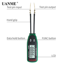 2018 Digital Multimeter 3000 counts Smart SMD RC Resistance Capacitance Diode Meter Tester Auto Scan MASTECH MS8910