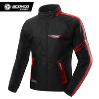 NEW SCOYCO JK34 2 Motorcycle Clothing Protective Racing Jacket Sports Motorbike Safety Waterproof Warm Winter Wear Free Shipping