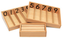 New Wooden Toy Baby Toy Spindle Box With 45 Spindles Montessori Mathematics Learning and Education Educational Toys Spindle Rod