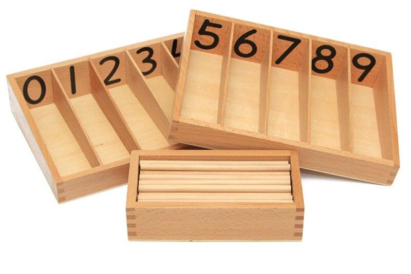 Nouveau jouet en bois bébé jouet broche boîte avec 45 broches Montessori mathématiques apprentissage et éducation jouets éducatifs tige de broche