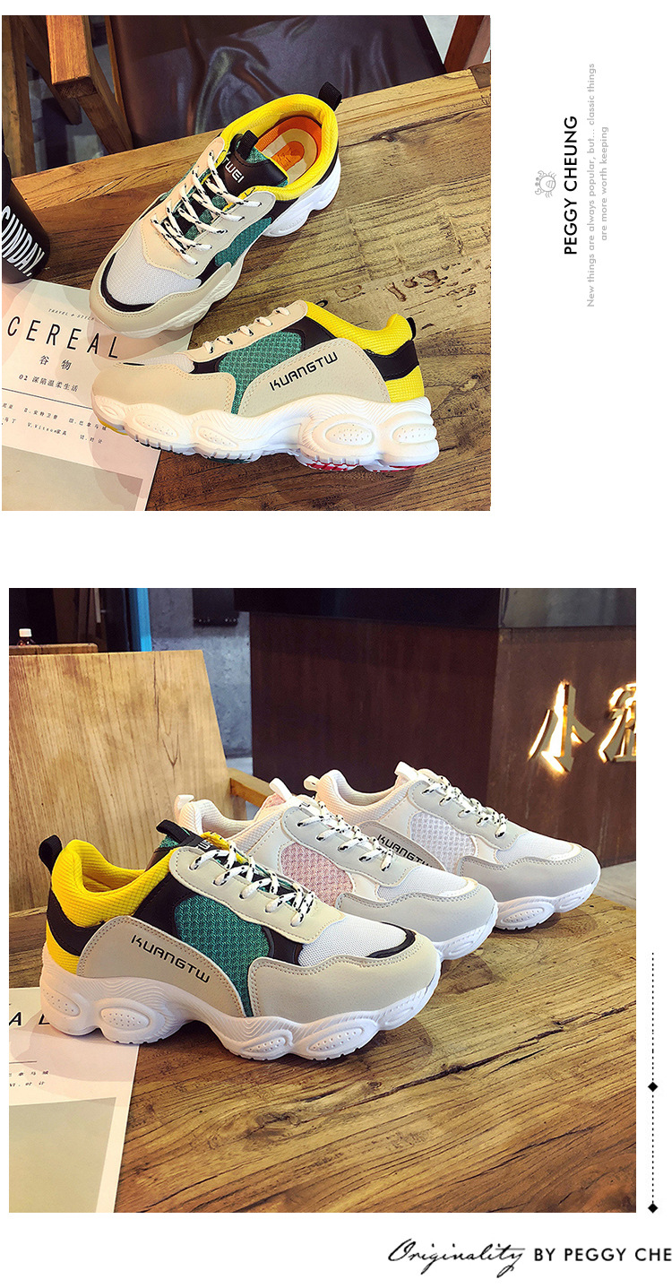 9  New itemizing sizzling gross sales Spring and Autumn web Breathable sneakers girls trainers DKS-186 HTB16YSCmZLJ8KJjy0Fnq6AFDpXaT