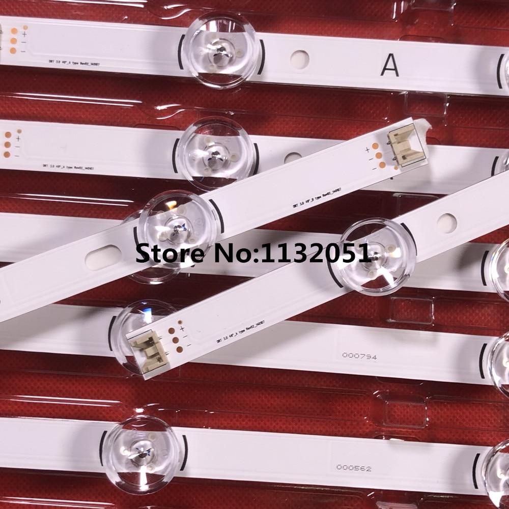 Original-New 2 PCS(1*A 1*B) LED Backlgith Strip For 49LB5500 LC490DUE Innotek DRT 3.0 49 A B 6916L-1788A 6916L-1789A 1944A 1945A