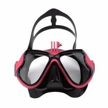 Επαγγελματική αδιάβροχη υποβρύχια μάσκα κάμερας καταδύσεων Scuba snorkel κολύμβησης γυαλιά για GoPro Xiaomi SJCAM αθλητική κάμερα