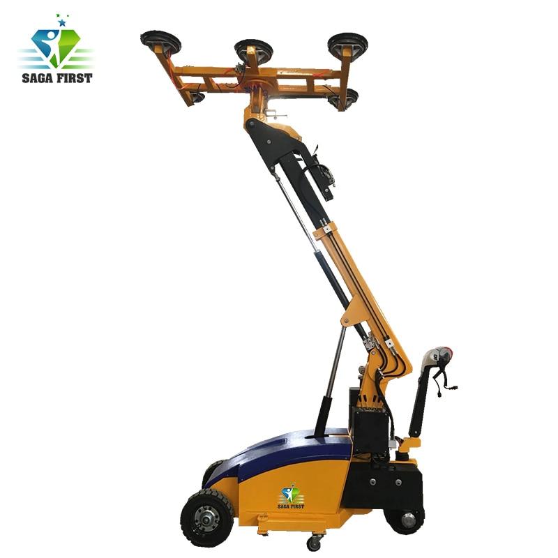 Heavy Capacity Vacuum Lifter With Suction Crane