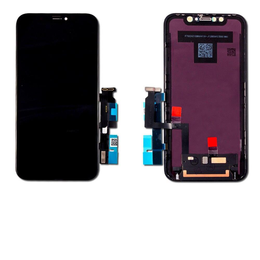 Pour iPhone XR LCD Qualité Écran D'affichage et Digitizer Écran Tactile de Remplacement Pour IPHONE XR Noir 6.1 pouces LCD 10 pcs/lot