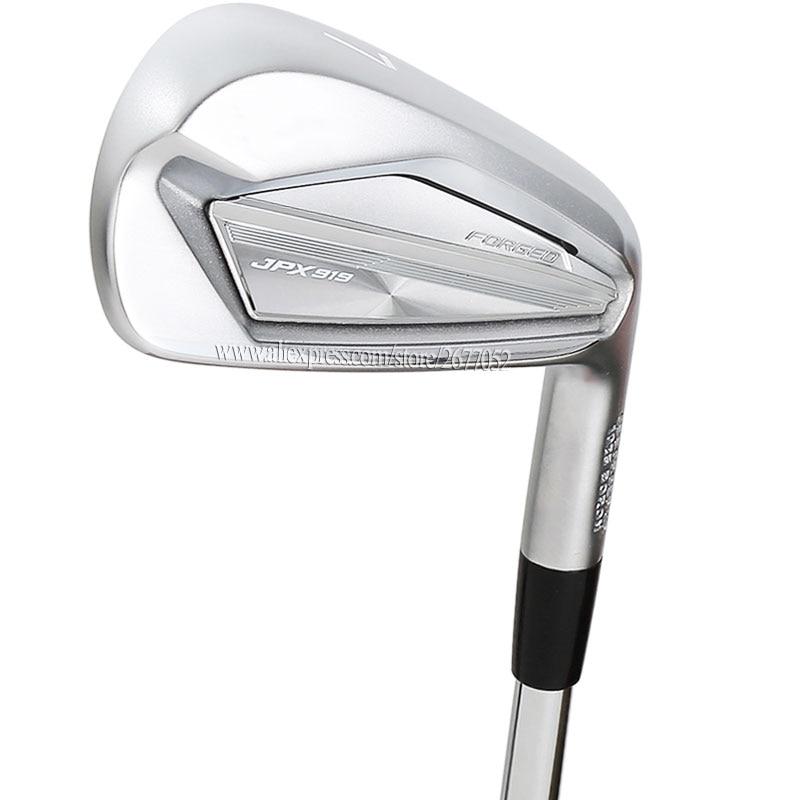 Golf Clubs JPX 919 Golf Irons 4-9PG Irons Golf Forged Clubs Steel Shaft R Or S Flex Golf Shaft Cooyute  Free Shipping