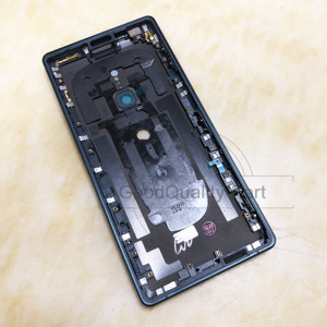 Image 4 - ใหม่สำหรับ Sony Xperia XZ2 แบตเตอรี่ด้านหลังฝาครอบด้านหลังประตู H8216 H8266 H8276 H8296 ด้านหลังกระจกกล้องเลนส์