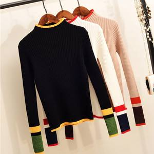 c79dbe6ec3898 GIGOGOU Turtleneck Women Sweater Pullover Jumper