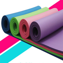 Environmentally Friendly And Tasteless NBR Yoga Mat Widening And Multifunctional Yoga Mat with Position Line Non Slip Carpet Mat 1 pc fangcan tpe single layer standard yoga mat skin friendly non toxic and environmentally friendly