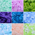 Rose Petals 5000pcs/lot Cheap Online Wholesale Wedding Decorations Fashion Artificial Polyester Wedding Christmas Flower Petal