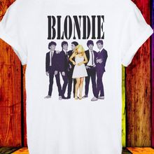338f8e1d Debbie Harry Blondie Singer Rock Pop Disco Music Men Women Unisex T-shirt  Fashion Men