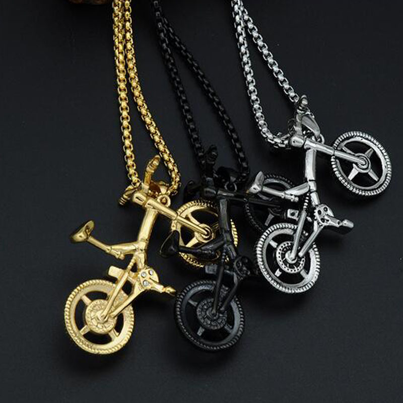 Aliexpress buy xuben new stainless steel bicycle pendant aliexpress buy xuben new stainless steel bicycle pendant necklace colar pingente from reliable colares pingentes suppliers on xuben official store aloadofball Gallery