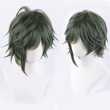 2018 Anime IDOLiSH7 Seven YAMATO NIKAIDO Mixed Green Cosplay Wig Short Hair Halloween