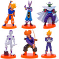 BOHS Animation Model Seven Dragon Ball H 55 Generation 6Doll/Set Decoration Doll Toy Action Figures 13.5cm