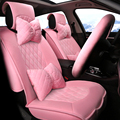 3D Maiden Style Car Cushion Short Plush All-Enclosed Design Car Seat Covers Car-Covers For LEXUS,RX, ES, CT ,GX etc