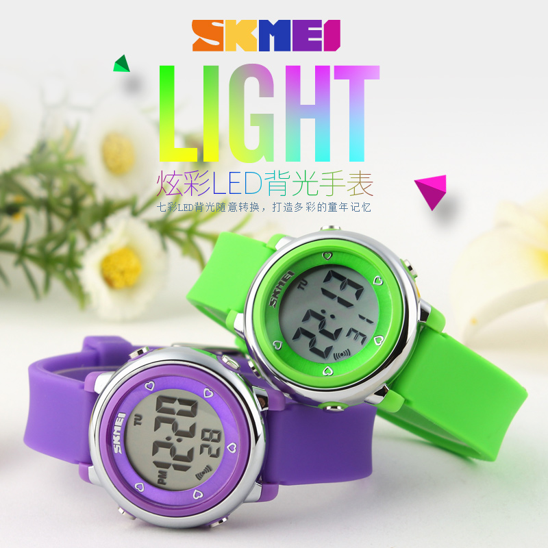 2018 SKMEI Children watch LED Digital Sports Watches Relojes Boys girls fashion Kids Cartoon Jelly Waterproof Wristwatches skmei brand children watches kids sports cartoon watch for girls boys rubber strap children s quartz digital led wristwatches