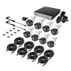 Image 2 - Kit de système de caméras de sécurité ZOSI HD TVI 8CH 1080P avec Vision nocturne de jour de 8*2.0MP