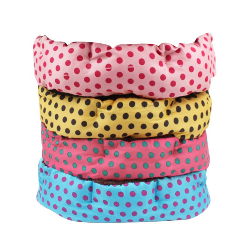 Leopard print Pet Cat Dog Bed Mats Washable Warm Kennels Doghouse ...
