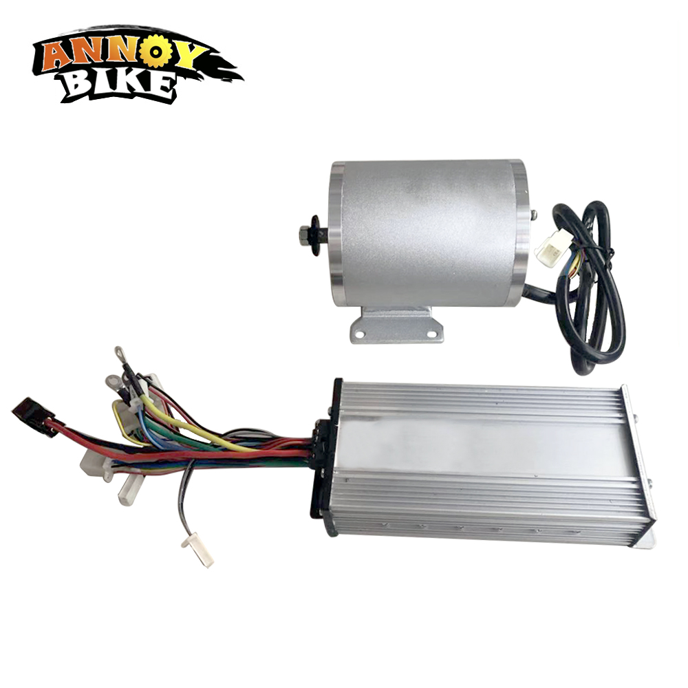Electric Bicycle Motor 60V2000W Controller Brushless Motor Kit With 60V 33A Brushless Controller Electric Scooter MotorcycleElectric Bicycle Motor 60V2000W Controller Brushless Motor Kit With 60V 33A Brushless Controller Electric Scooter Motorcycle