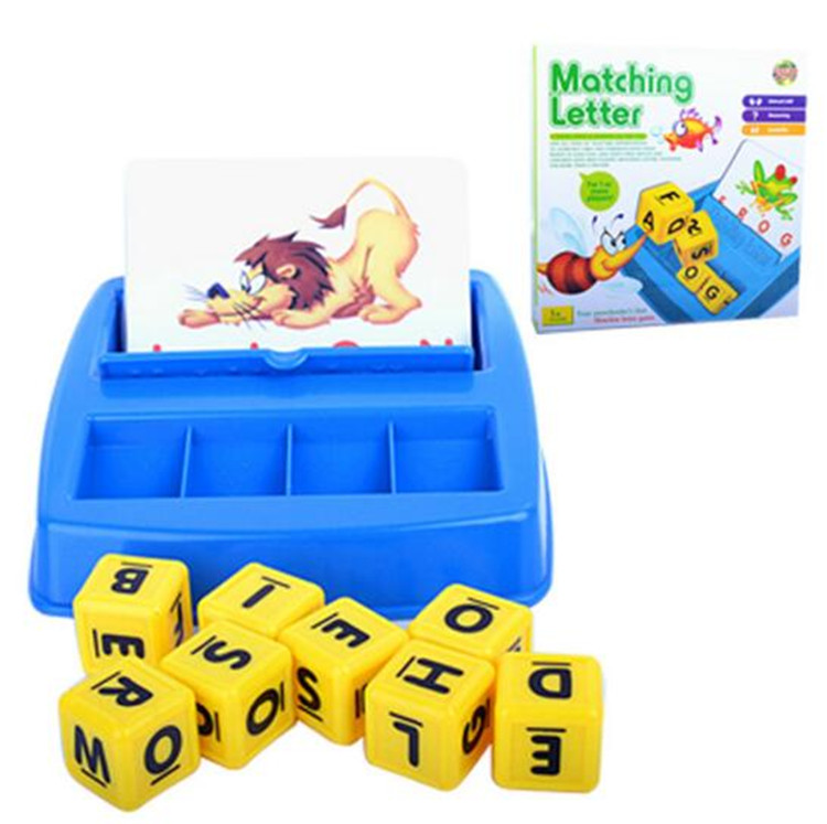 Educational Toys English Matching Letter Spelling Words