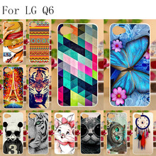 Anunob Case for LG Q6 Cover TPU Silicone Coque For Plus X600 X600K X600S X600L Alpha Protector Bumper