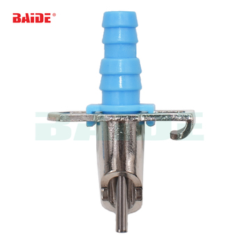 Automatic Rabbit Duck Water Feeder Drinker Fountains Waterer with Spring and Tee Coupling for cleaning 300sets/lot