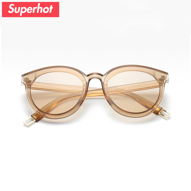 Superhot Eyewear - Fashion Women Sunglasses pinky color Sun glasses transparent lady sunnies female shaeds UV400 dropship SP001