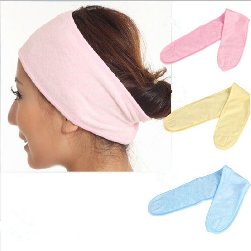 1 PC Bath Shower Headband Make Up Wash Cosmetic Head Wrap Hair Tools For Pregnant Women Scarf Hat Postpartum Wind Cold