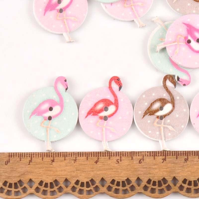 Bricolage Vêtements Décor 2 Trous Handmade Sewing feuille en bois Boutons Scrapbooking