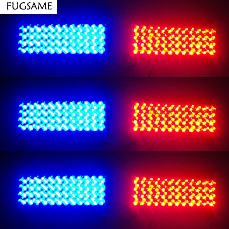 FUGSAME 6 * 48 288 LED Avtomobil Vasitə Avtomatik - Avtomobil işıqları - Fotoqrafiya 6