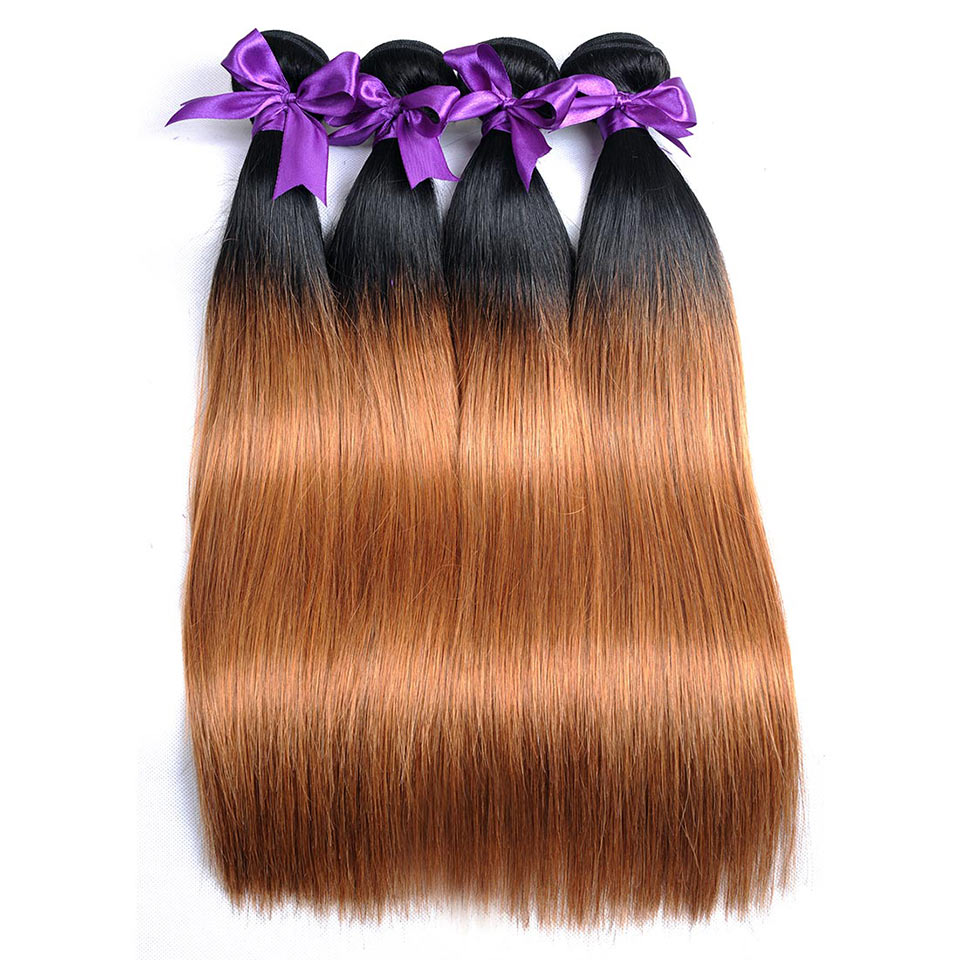 Straight-Ombre-Peruvian-Human-Hair-Bundles-10-26-inches-1b-30-Two-Tone-Blonde-Weave-Bundles-Shining-Star-Non-Remy-Thick-Welf-1Pc7