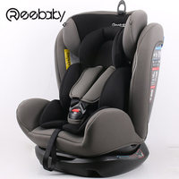 7.8 Reebaby 906 (grey) Children Car Safety Seat Adjustable Sitting And Lying Kids Safety Belt Booster Seat Not Isofix